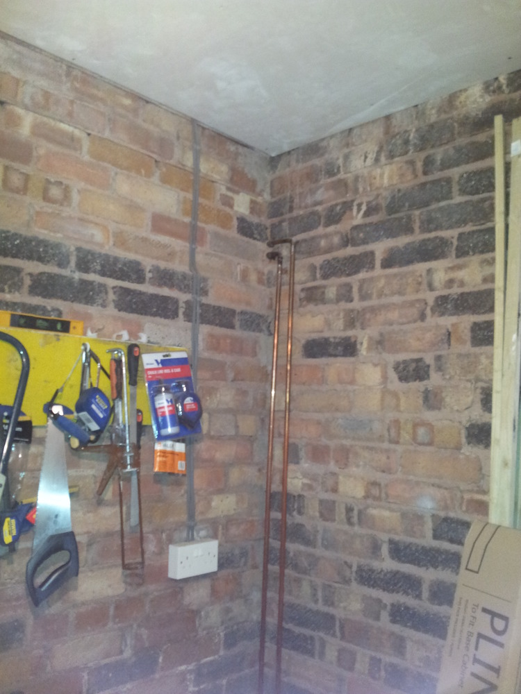 Convert Space Into Under Stairs Toilet Amp Laundry Room