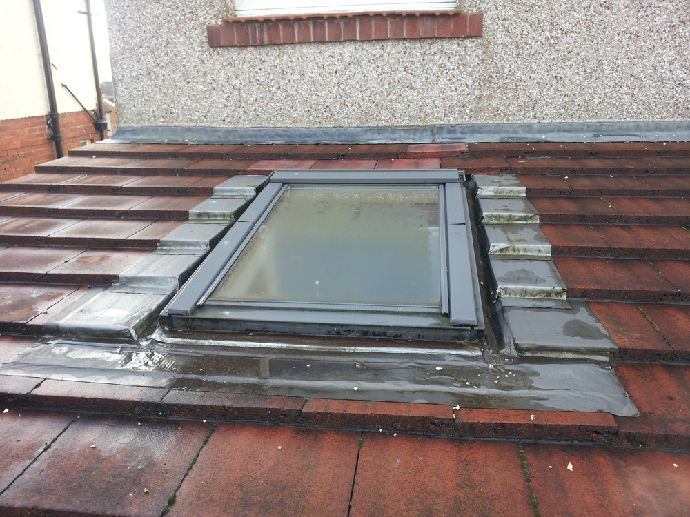 Roof Leak Round 2 Velux Windows On Shallow Pitch Roof