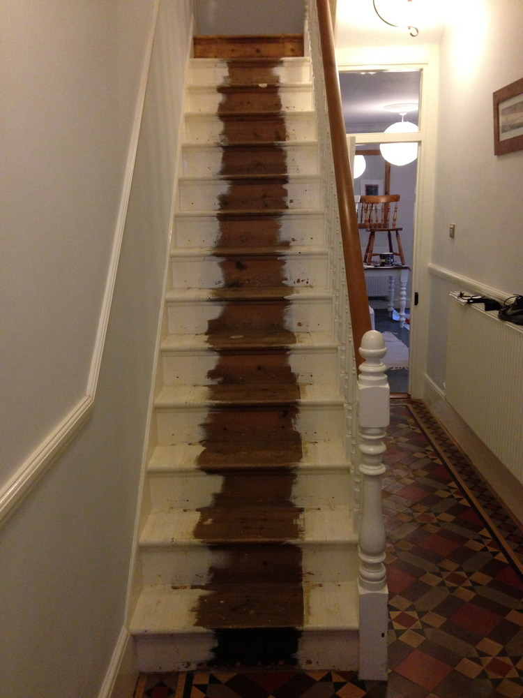Sand Down A Victorian Staircase Carpentry Amp Joinery Job