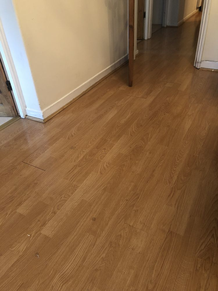 Laminate Flooring Remove Old And Replace With New Flooring Job