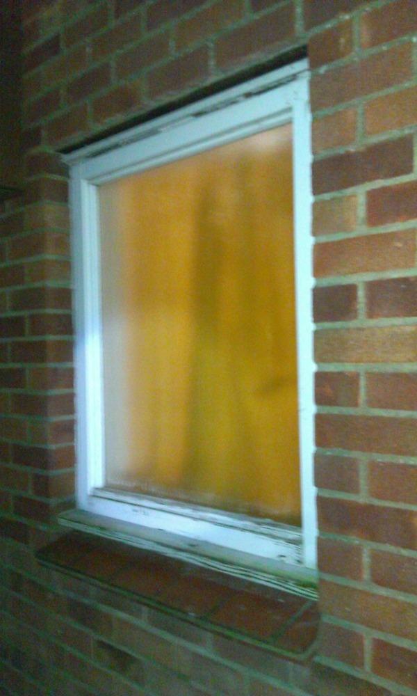 Brick Up 3 X3 Window Opening Single Skin Bricklaying