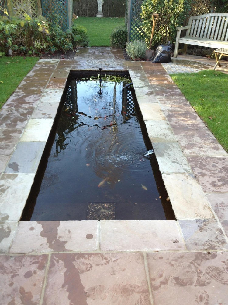 Ponds by design 91 feedback landscape gardener in for Modern garden pond designs