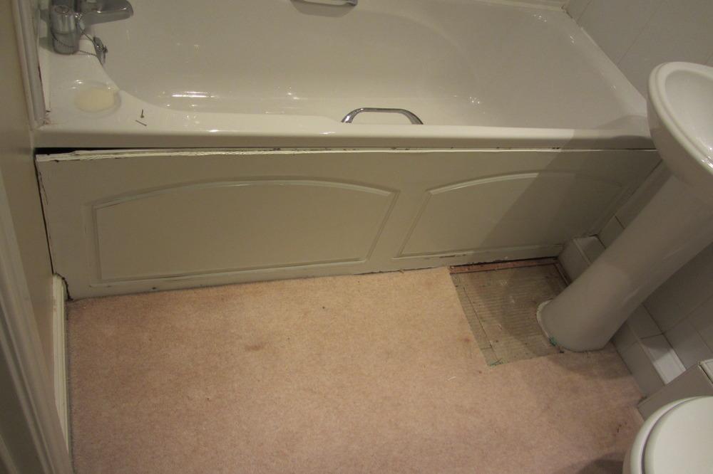 Tiling + source/fit glass shower screen & bath panel - Bathroom ...