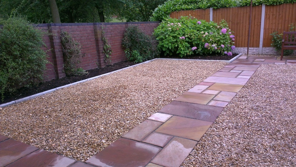 Sand Backyard Maintenance : Landscaping Ltd 100% Feedback, Landscape Gardener, Fencer in