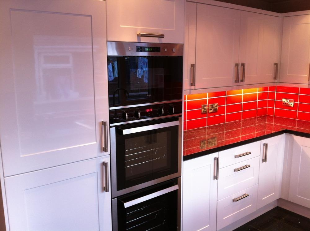 Kitchen Tiles Black Worktop 100+ ideas red black kitchen tiles on weboolu