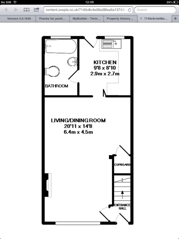 Terraced House Layout Small Terraced House Need