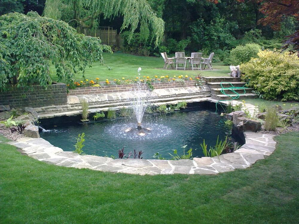 Ponds by design 91 feedback landscape gardener in for Fibreglass pond