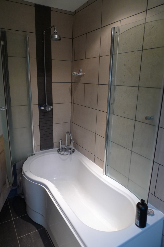 Re grouting and re sealing shower bath handyman job in for A c bathrooms sheffield