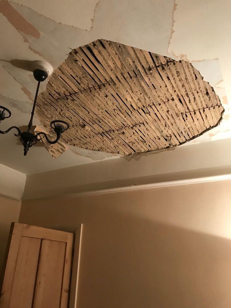 Repairing Lath And Plaster Ceiling