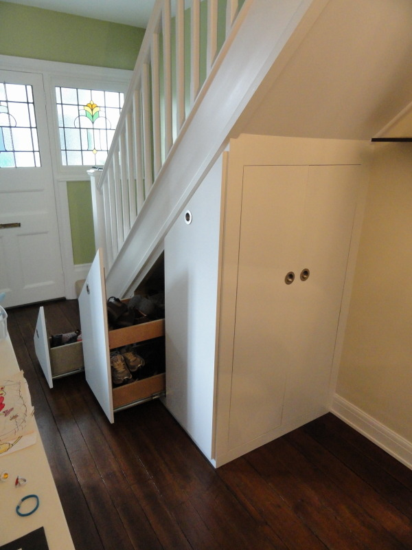 Under Stairs Cupboard Cupboard With Sliding Door