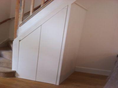 Under Stairs Cupboard Cupboard With Sliding Door