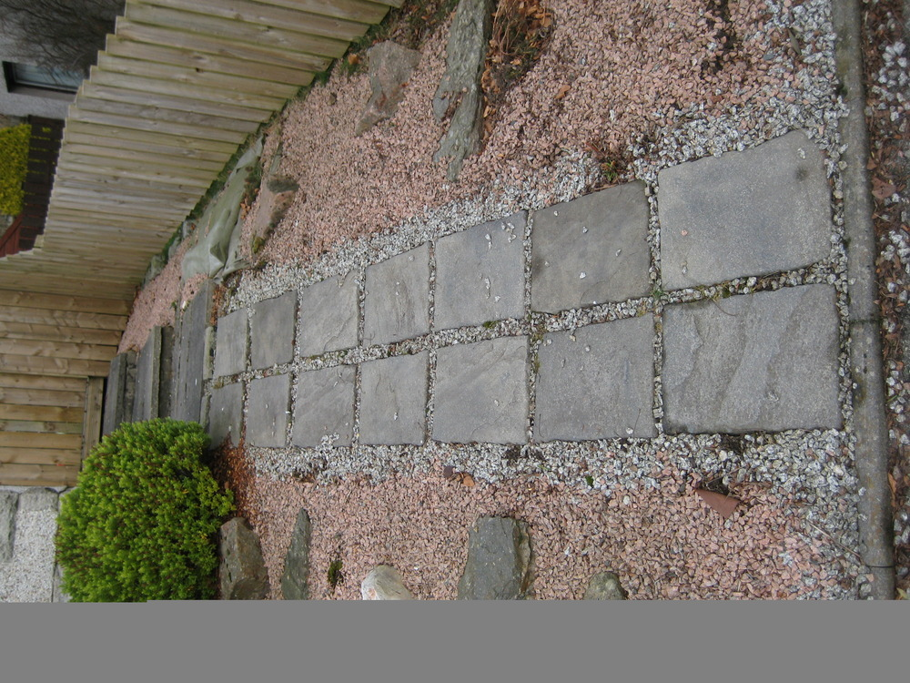 Removal Of Slabs Lay Chukkies General Tidy Up - Landscape Gardening Job In Aberdeen ...