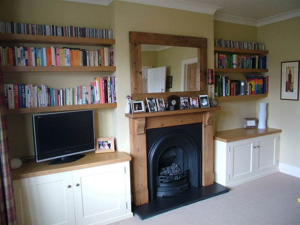 Fitted Wardrobe Alcove Cabinets Shelves Carpentry Joinery