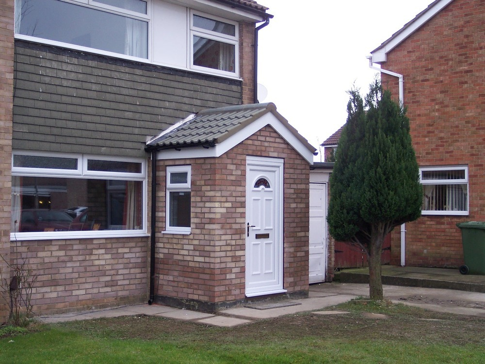 Pds uk 100 feedback window fitter conservatory for Porch extension